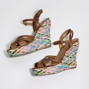 💟 JEFFREY CAMPBELL Colorful open-toe Wedge